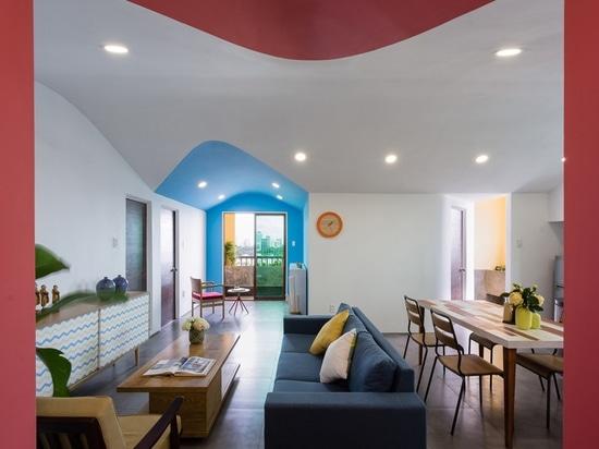 ad+ studio fills ho chi minh city apartment with color