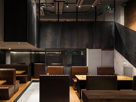 mitsuhiro shoji completes yakiniku sora's bbq joint in china