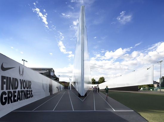 View of entrance ( Photo © : Skylab Architecture )