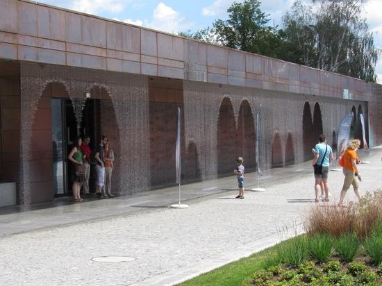 Digital Water curtain loves Hydropolis museum
