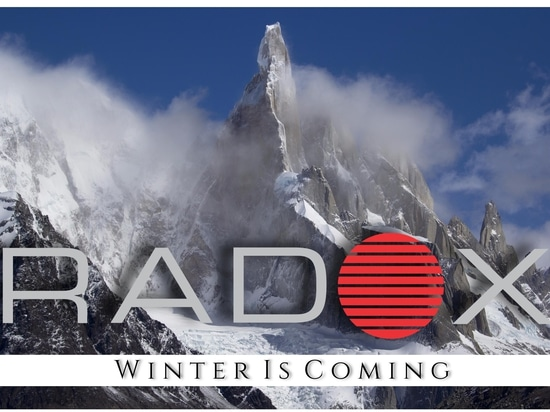 Radox. Winter is coming