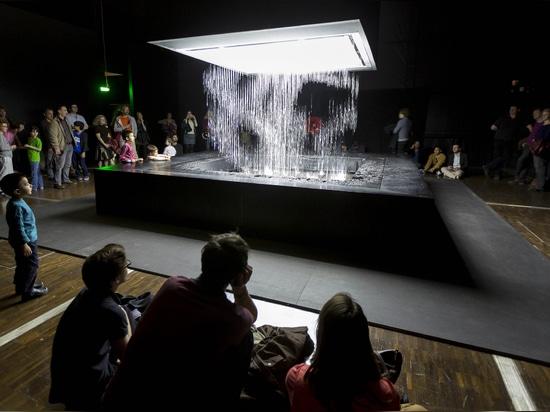 3D Water Matrix, Paris, France