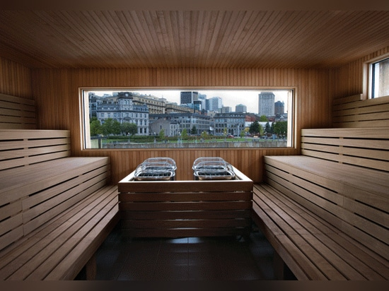 View from the sauna.