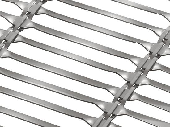 HAVER Architectural Wire Mesh LARGO-TWIST for Sun Shading