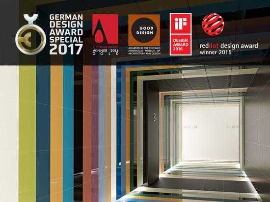 REVIGRÉS WINS THE GERMAN DESIGN AWARD 2017