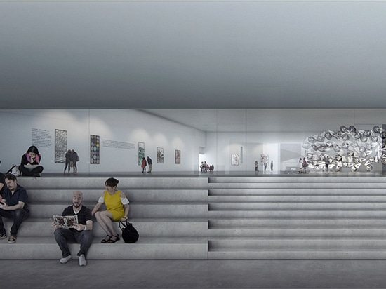 james turrell + schmidt hammer lassen reveal their design for ARoS aarhus museum extension