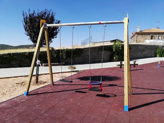 Playground at Castellar de Santiago, Ciudad Real 2016