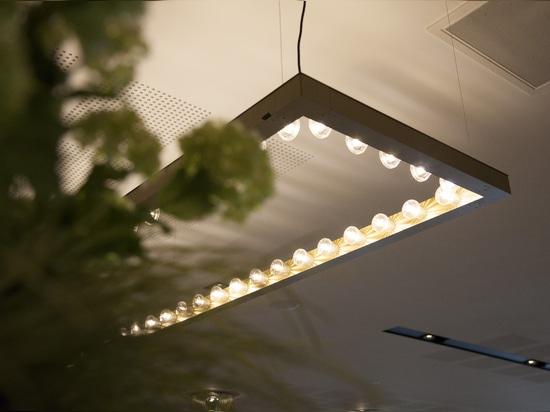 Framed light fixture