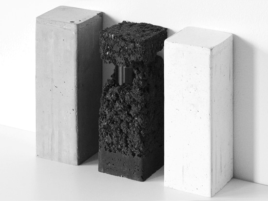 Francesca Gotti conceals perfume inside Glebanite blocks