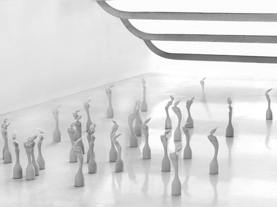 Zaha Hadid-designed Brit Awards trophies unveiled