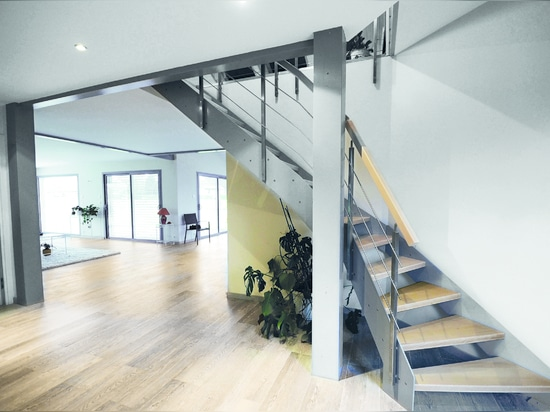 Treppenmeister, staircases which combine aesthetics, security and nobility of materials.