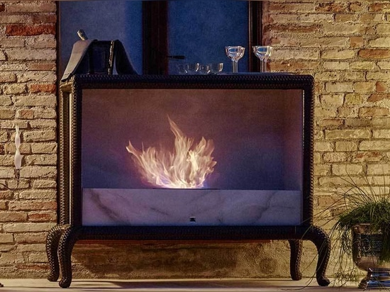 Samuele Mazza Outdoor Fireplace