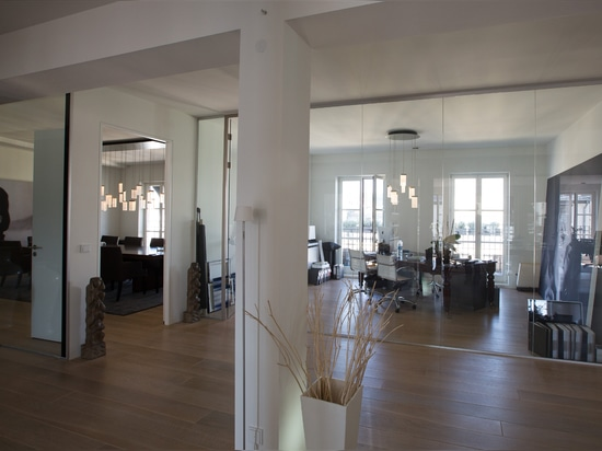 Bespoke lighting solutions for several areas of a businessloft in Berlin, Germany