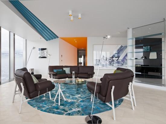 COORDINATION-berlin completes luxurious loft in almaty, kazakhstan