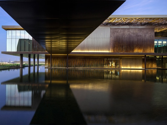 a reflective pool refers to the value and significance of water