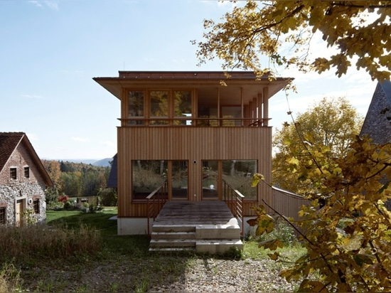 erich prödl associates and HpSA ZT rework styrian farmhouse in austria