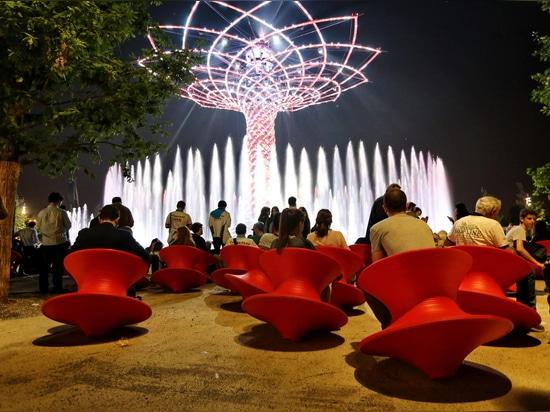 Expo Milano 2015 : The Tree of Life