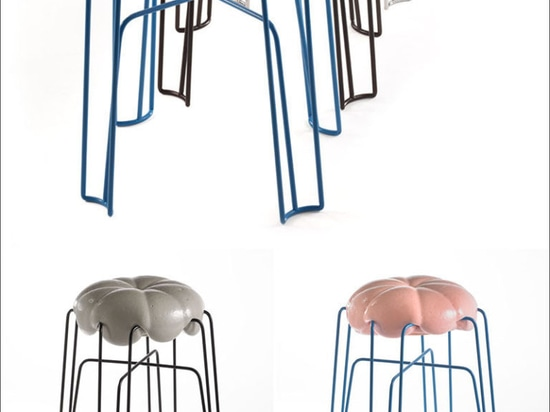 Unique Modern Furniture Design – Paul Ketz Designs Marshmallow Stools