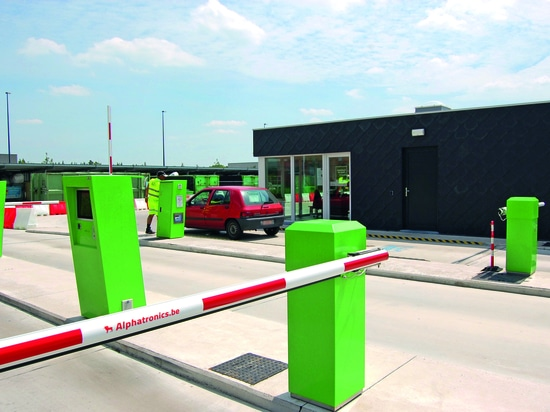 Alphatronics is the pioneer with regard to installations for waste recycling centres.