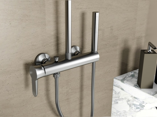 Stainless steel 316 marine grade showerset