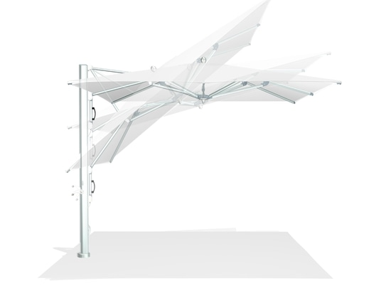 Architectural shade with the multitalented MAX cantilever