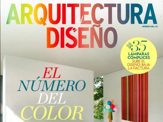 VIVE in the Arquitectura y Diseño magazine