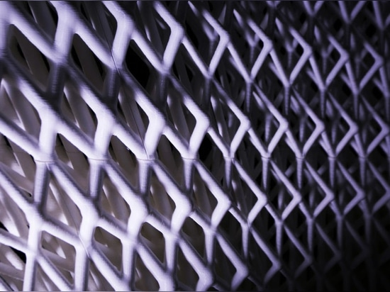 3D-printed pavilion is modeled on the microstructure of bones
