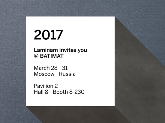 The innovative LAMINAM ceramic slabs for the world of building