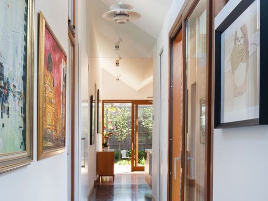 This House Is Built Around Four Courtyards