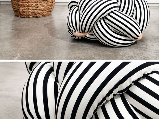 The Design Of These Oversized Cushions Was Inspired By Knots Tied By Sailors