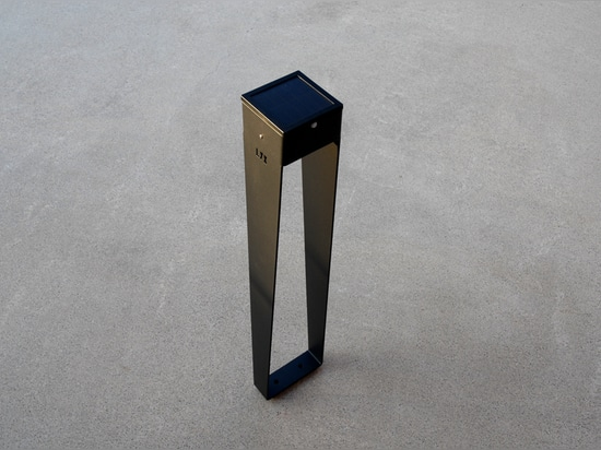solar lamp BTS 900 grey charcoal