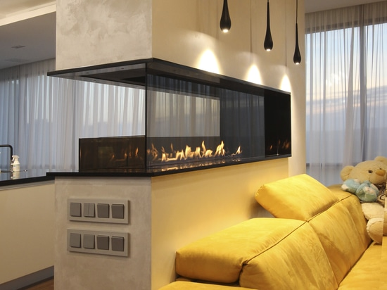 Fireline Automatic 3 in a modern apartment.
