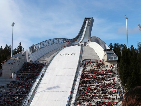 Holmenkollen - a hill of light for high-fliers