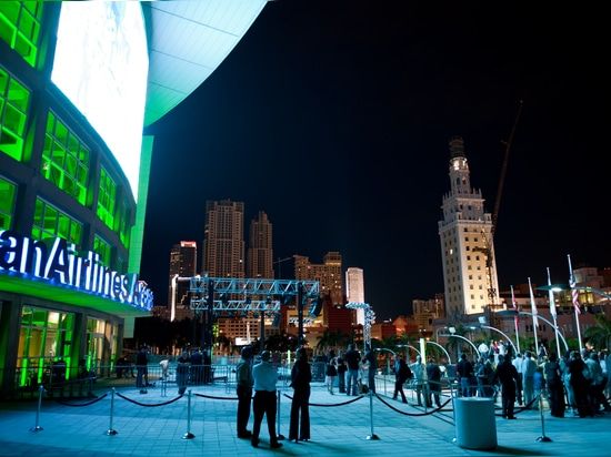 American Airlines Arena becomes Time Square South