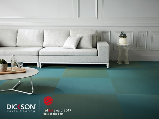 """Dickson wins prestigious """"Best of the Best"""" Red Dot Award for the innovative design of its new collection of French-made woven vinyls"""