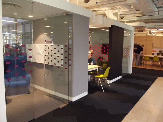 Prism acoustic panels by Soundtect