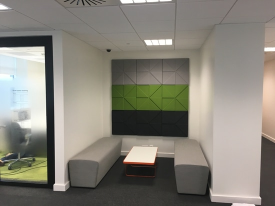 GSK installs Soundtect Prism acoustic panels at its third Site