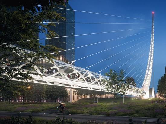 Crowning glory: Peninsula Place heralds Santiago Calatrava's first major UK project