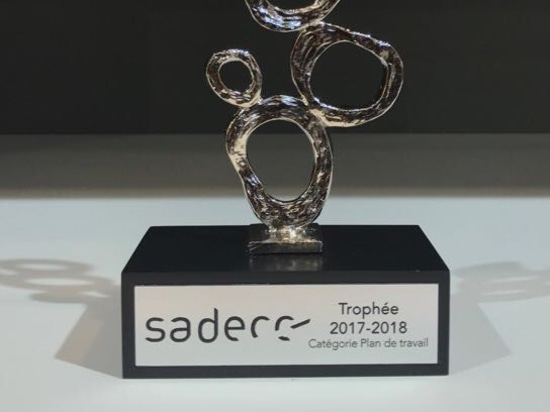 "LAMINAM WINS THE ""SADECC TROPHÉE 2017–2018"" IN THE WORKTOP CATEGORY"