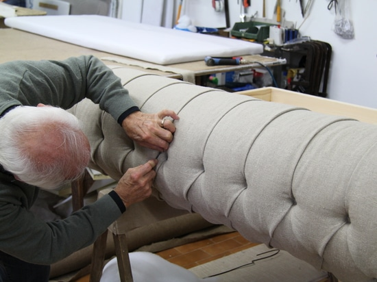Chesterfield Sofa manufacturing