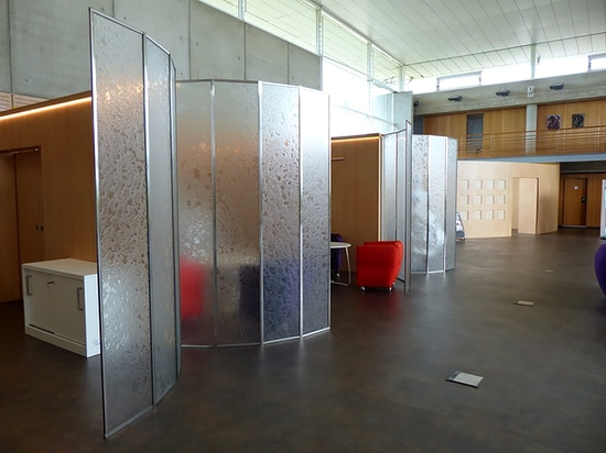 Glass panels for Orly Airport, Paris