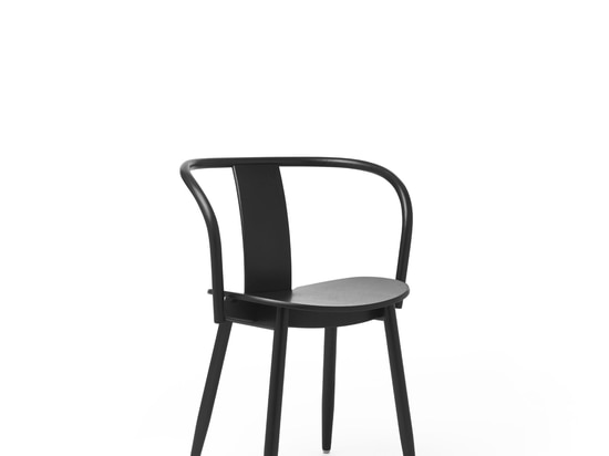 Icha Chair Black Stained Oak