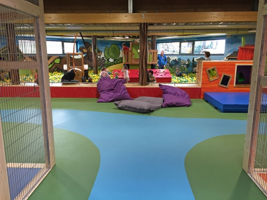playfix® indoor safety flooring at Ketteler Hof Indoor.