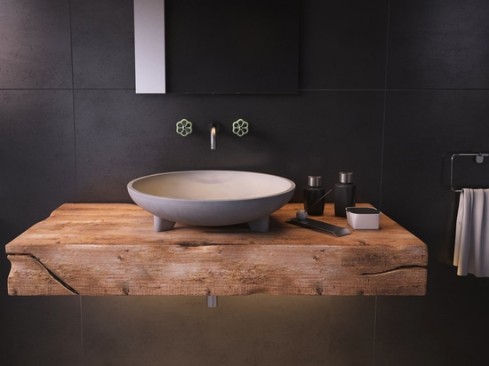 CALDERA concrete washbasin