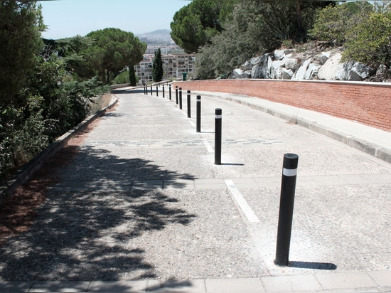 Recycled A-Resist bollards