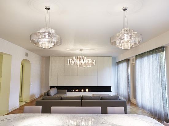 Project in a private flat in Paris