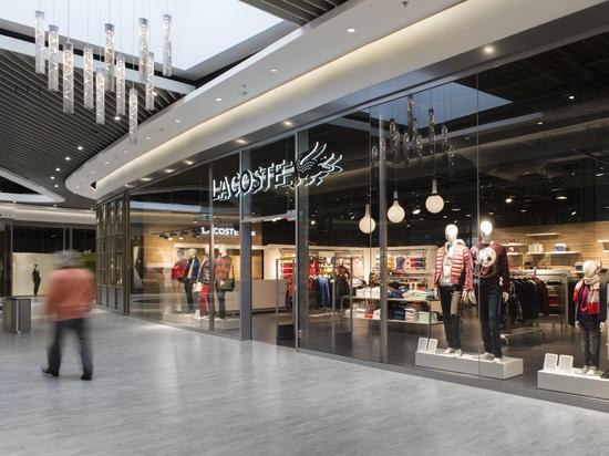 Project in a shopping mall in Copenhagen