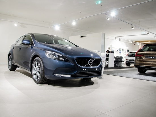 Volvo's stand Project by Brilumen