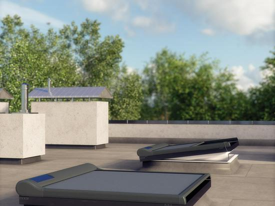FLAT ROOF WINDOW TYPE WITHOUT DOME (TYPE F)