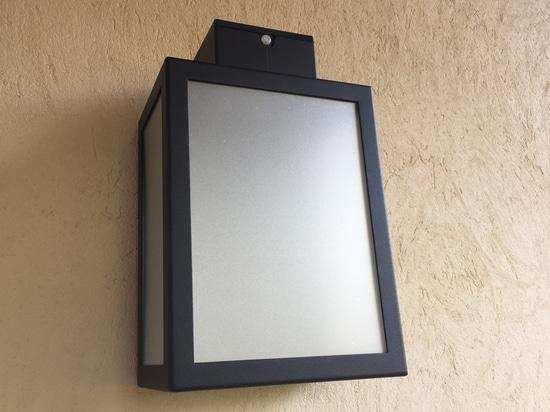 Solar wall lamp APS 030 (polycarbonate)